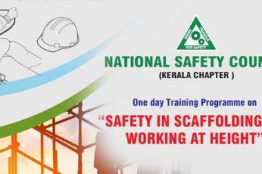 One Day Training Programme on Safety in Scaffolding and Working at Height , Date: July 29, 2019