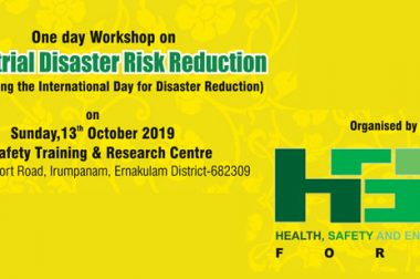 One day Workshop on Industrial Disaster Risk Reduction