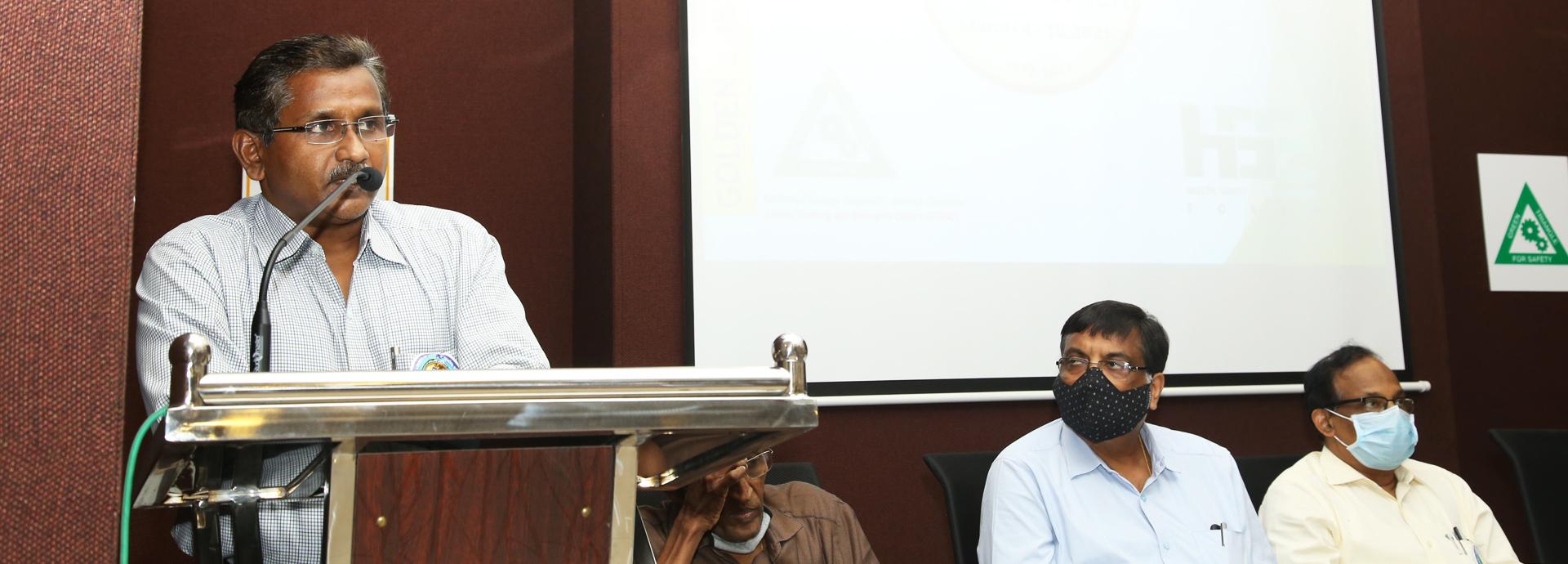 Presidential Address by: Shri. P Pramod