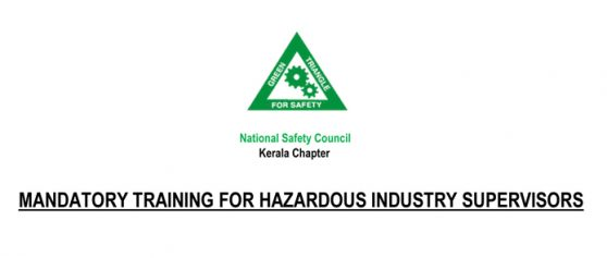 Certificate Course for Supervisors Employed in Hazardous Process Industries